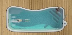 Купить бассейн Fiberpool Kariba