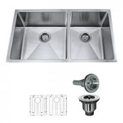 Kraus KHU103-33 кухонная мойка из нержавеющей стали