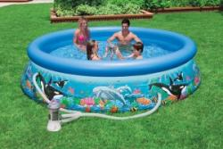 Надувной бассейн Intex 28124 купить