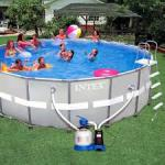 Intex 28322 каркасный бассейн